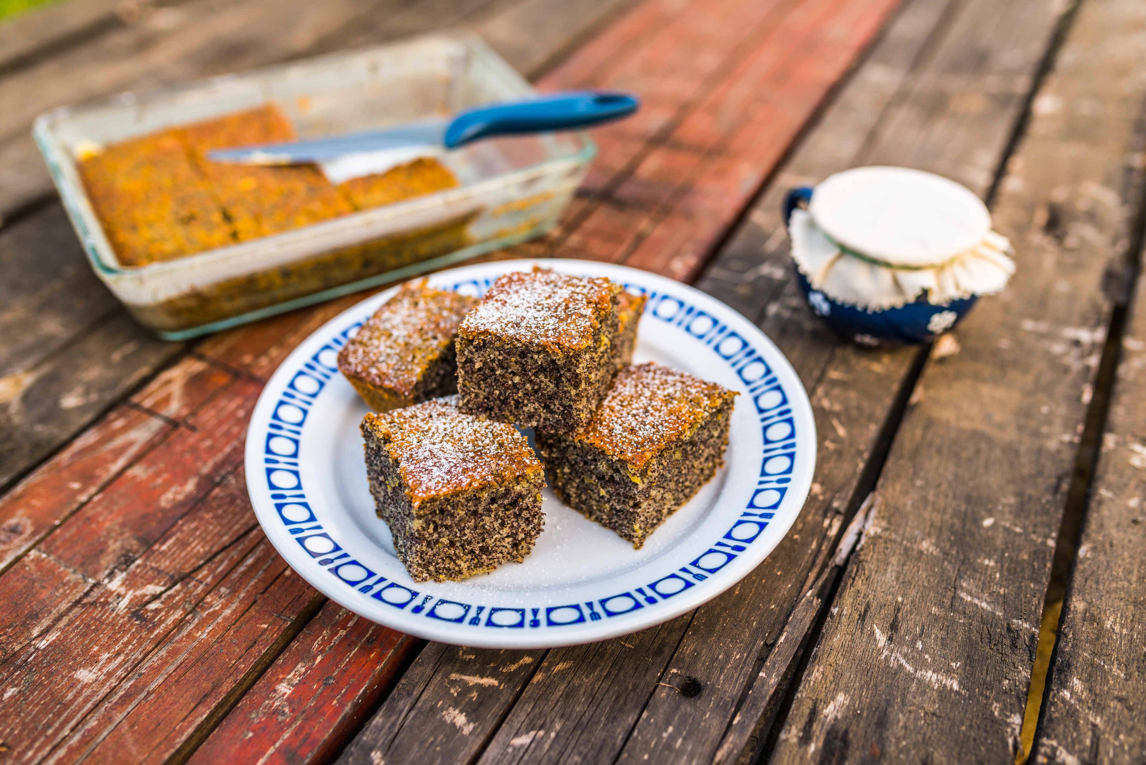 Bögrés mákos sütemény recept főfotó