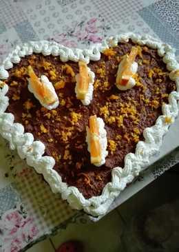 Narancsos csokitorta