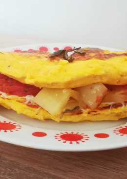 Töltött omlett