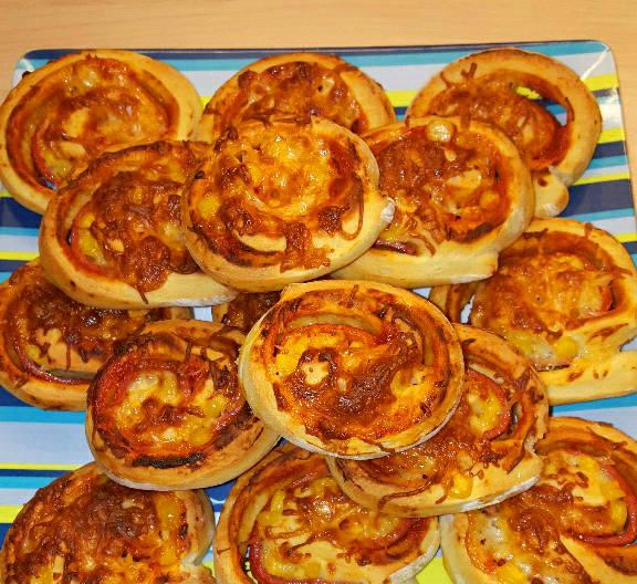 Pizzás csiga recept főfotó