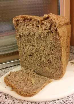 Fügés-diós kenyér, kenyérsütő gépben