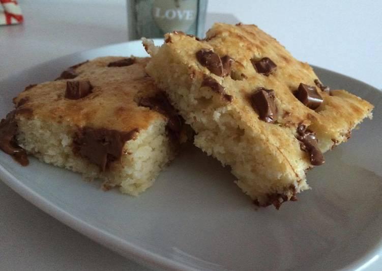 Kókuszos csokis süti