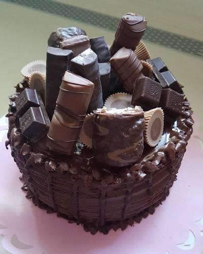 Mascarponés csokitorta..❤❤