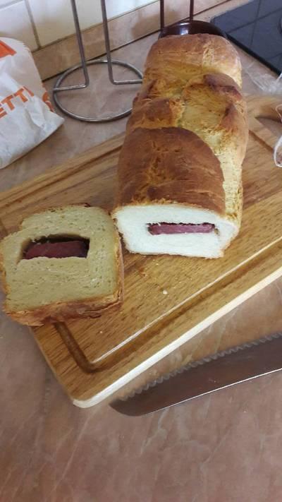 Tormás-füstölt tarjás kenyér franciasaláta aszpikkal