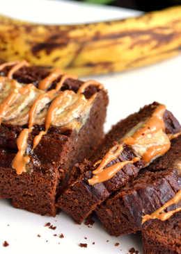 Mogyoróvajas-banános kenyér