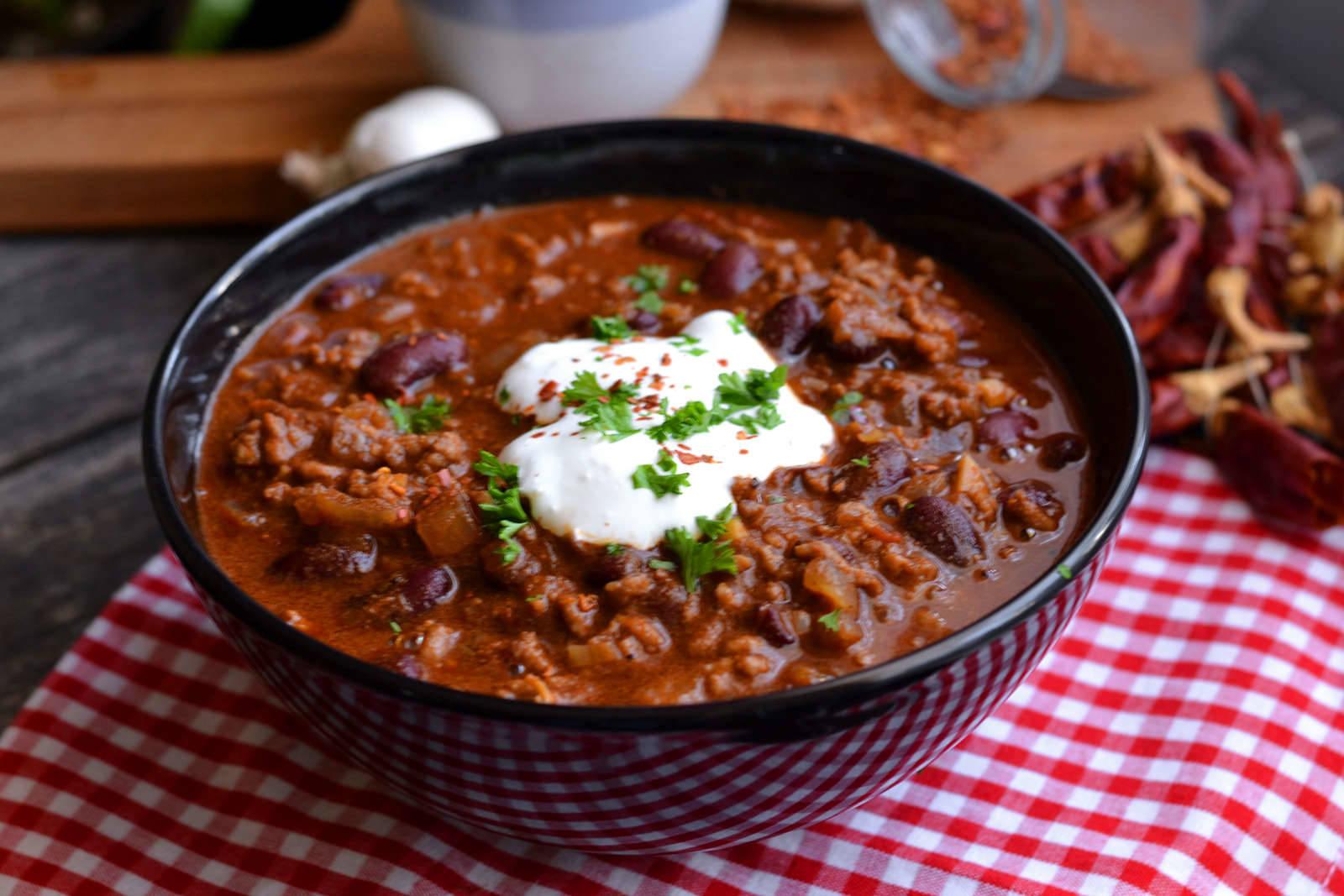 Klasszikus chili con carne recept főfotó