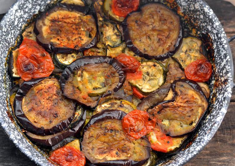 Grillezett zöldségköret