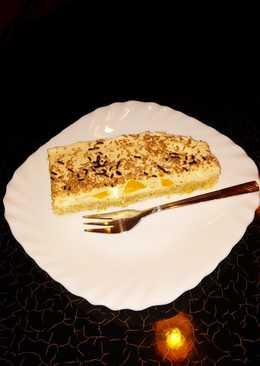 Tejszínes-sárgabarackos süti
