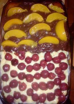 Babapiskótás pudingos süti