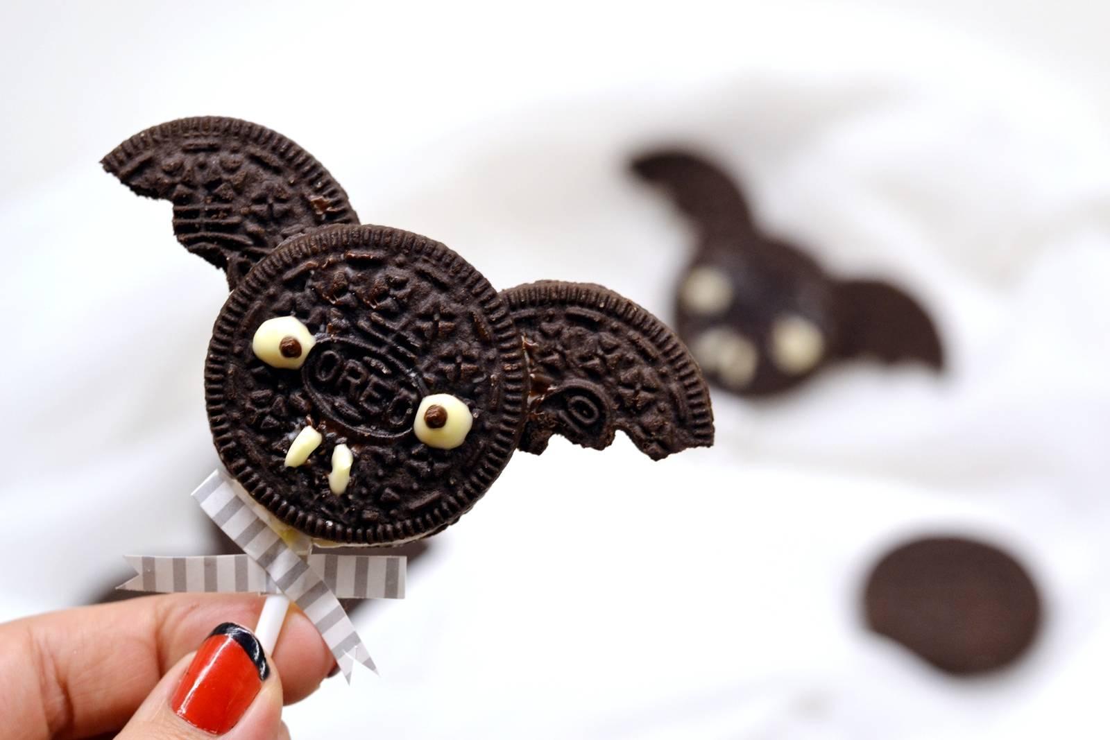 Halloween Oreo denevér keksz recept főfotó