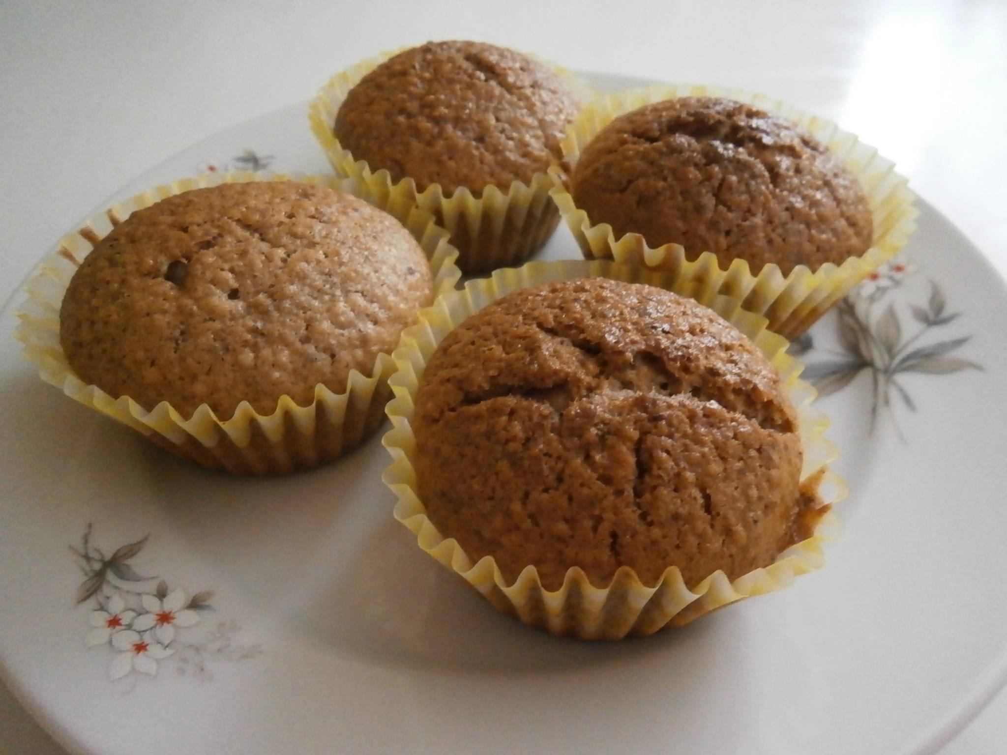 Diós muffin recept főfotó