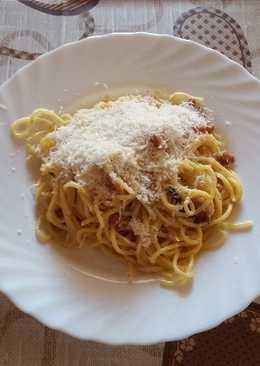 "Majdnem ""igazi"" carbonara spagetti"