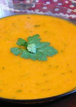 Sült zöldség leves