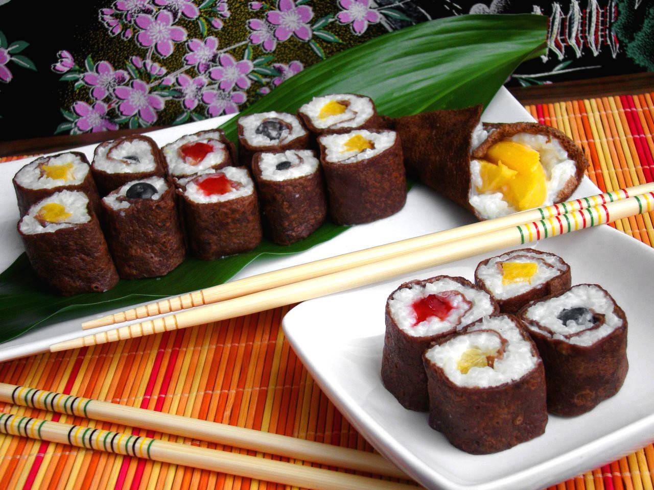 Édes palacsinta sushi recept főfotó