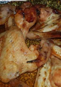 Mézes-ketchupos csirkeszárnyak