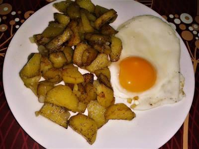 Serpenyős hagymás krumpli 😉