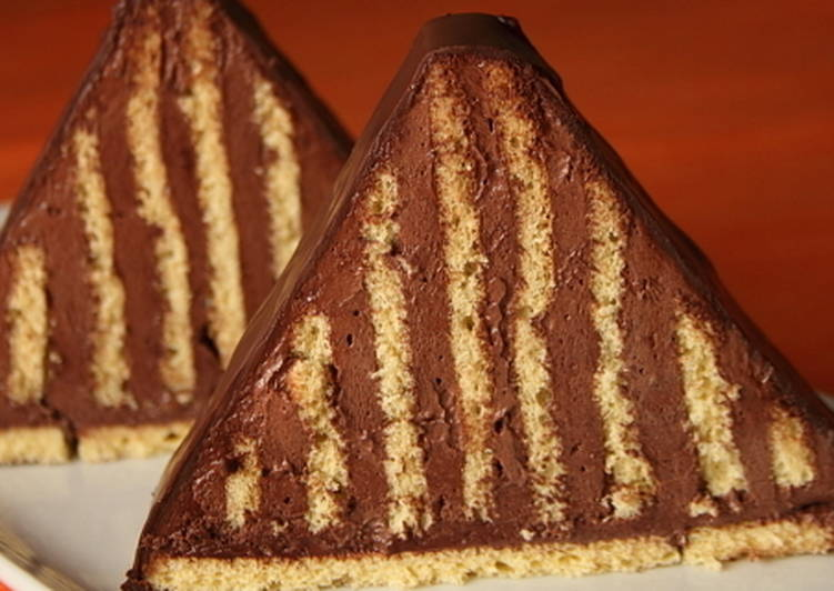 Piramis szelet