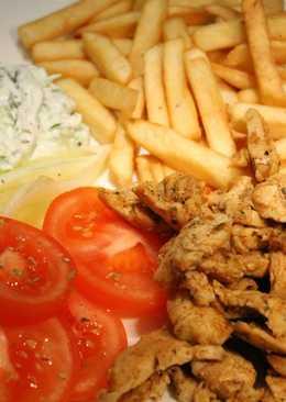 Kvászos, mustáros, hagymás csirkemell