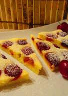 Cseresznyés-grízes süti