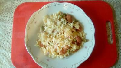 Virslis vagy kolbászos tészta