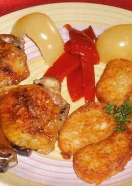 Sütőzacskóban sült fokhagymás csirkecomb🍗