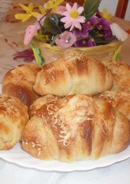Sajtos sonkás croissant