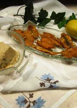 Sprotni hal, paprikás lisztben sütve
