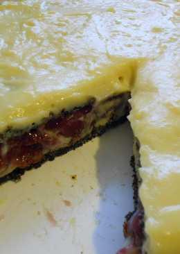 Meggyes - mákos torta