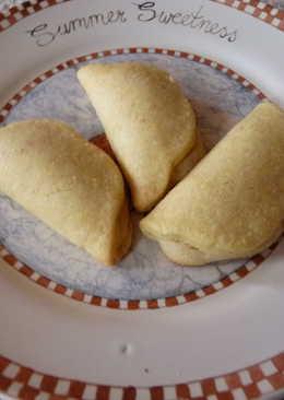 Marcipánnal töltött keksz recept rózsaborssal