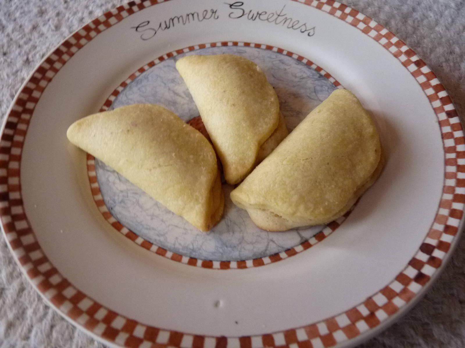 Marcipánnal töltött keksz recept rózsaborssal főfotó
