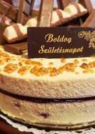 Meggyes fehércsoki torta