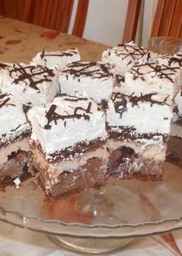 Rumos-meggyes csoki kocka