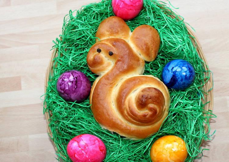 Húsvéti nyuszi zsömle