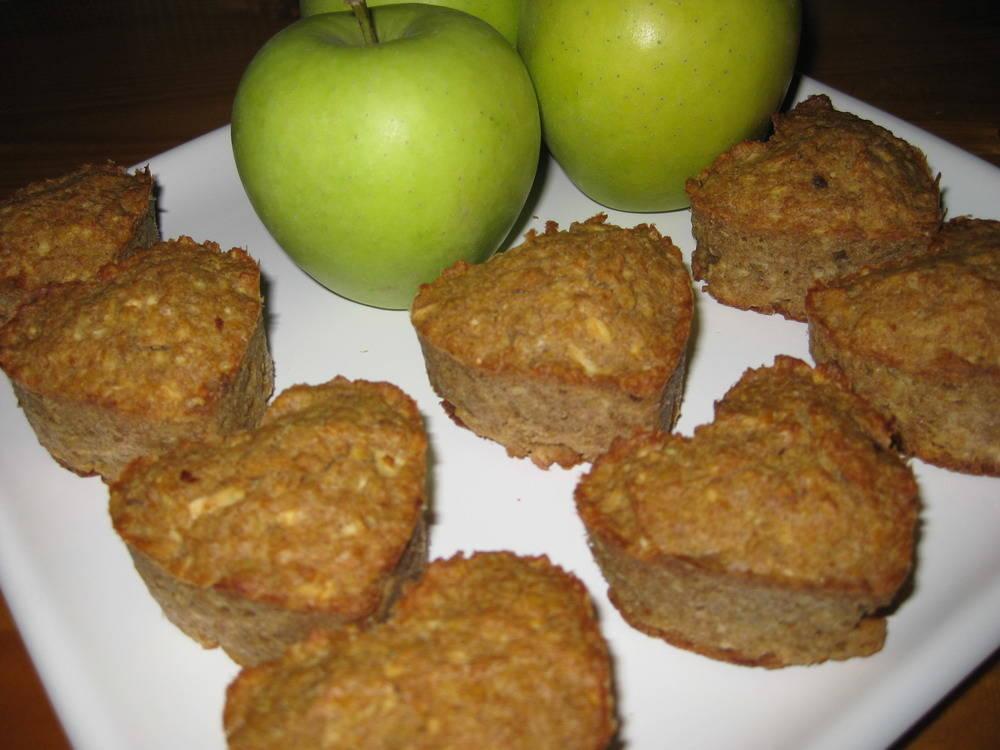 Almás-zabpelyhes muffin recept főfotó