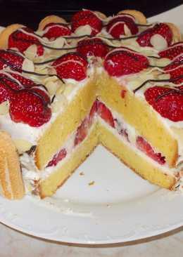 Epres-pezsgős süti