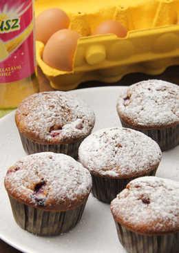 Málnás joghurtos muffin