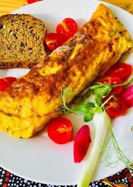 Sajtos omlett