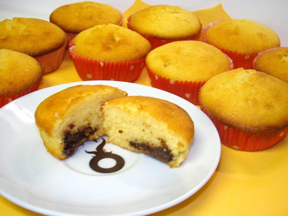 Nutellás muffin recept főfotó