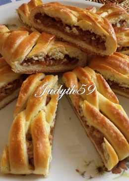 Kígyórétes illatos almatöltelékkel Judyth konyhájából