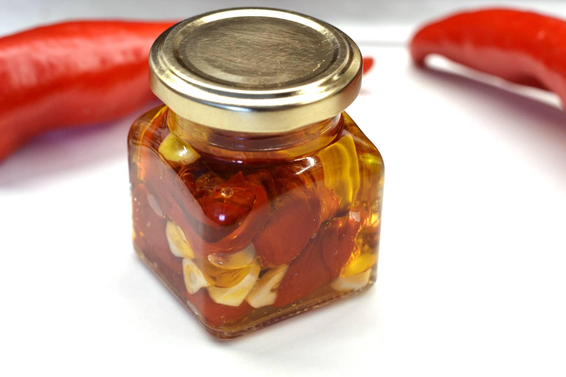 Sült paprika recept olajban főfotó