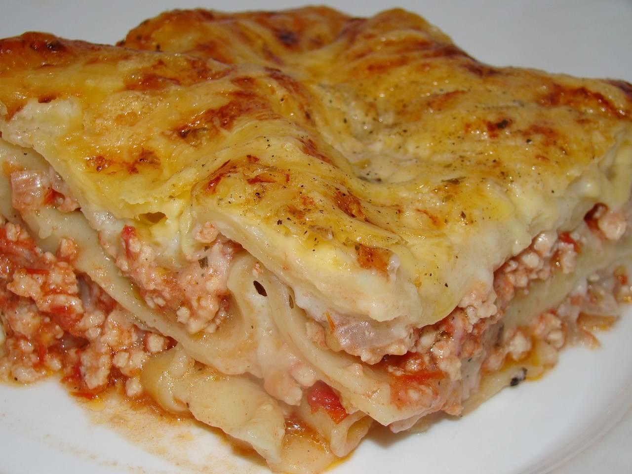 Csirkés lasagne recept főfotó