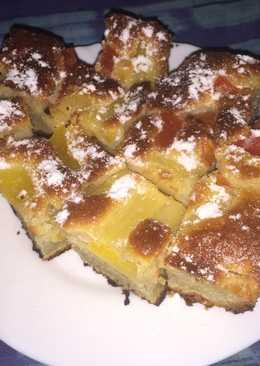 Bögrés, gyümölcsös sütemény