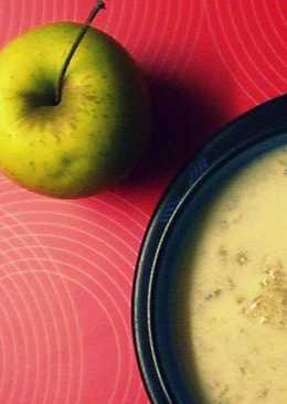 Forró gyömbéres almaleves