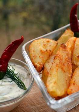 Paprikás sült krumpli
