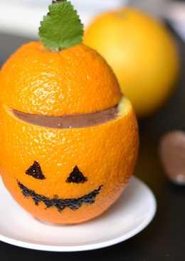 Halloween csokipuding