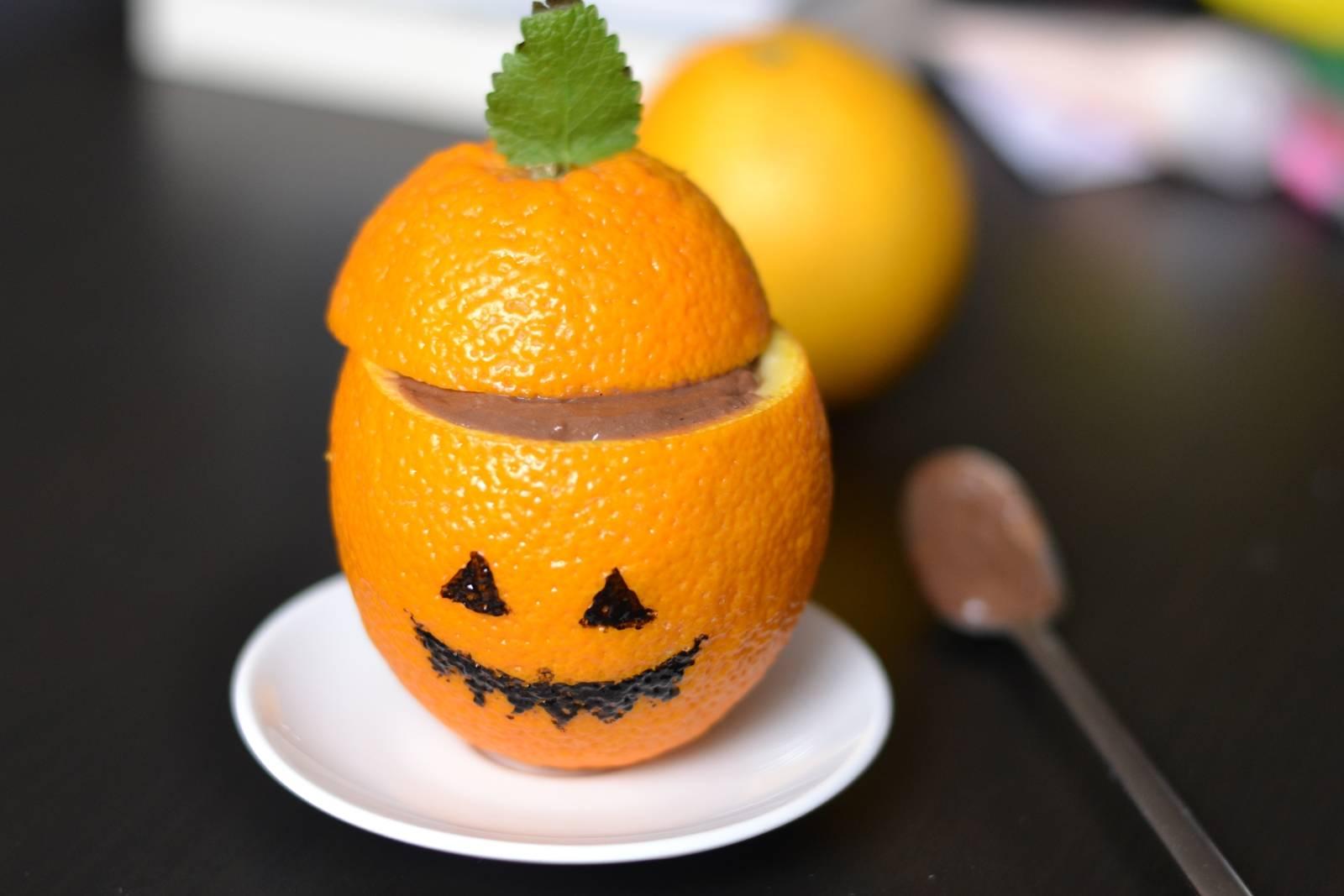 Halloween csokipuding recept főfotó