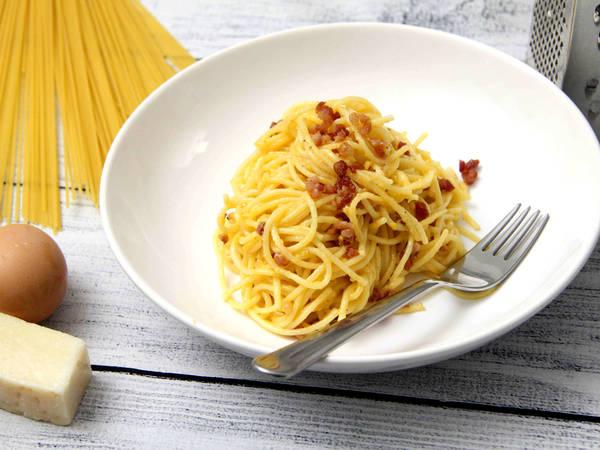 Klasszikus spagetti carbonara