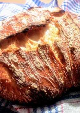 DNK fehér kenyér (dagasztás nélküli)