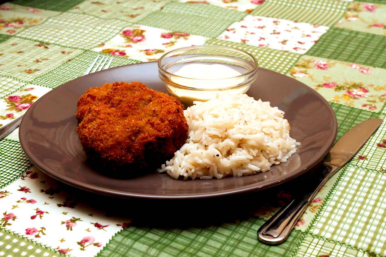Rántott gomba recept tartár mártással főfotó