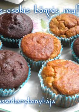 Banános-csokis bögrés muffin (Gluténmentesen is)